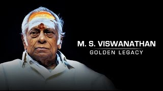 Golden Legacy MS Viswanathan | Behindwoods is proud to dedicate 'Golden Legacy' medal to the legendary MSV