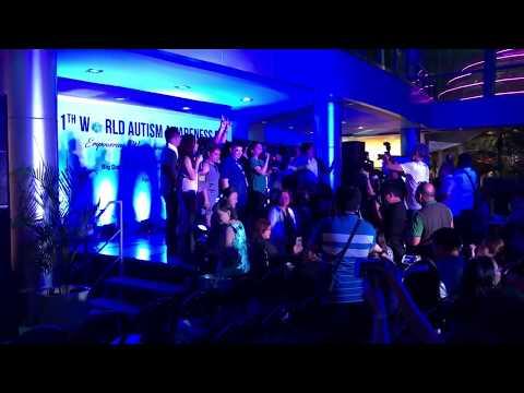 Light it up Blue 2018 Smart Araneta Philippines