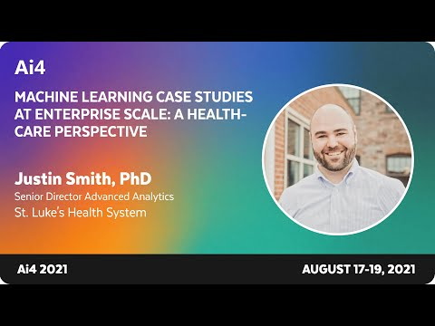 Machine Learning Case Studies at Enterprise Scale: A Healthcare Perspective