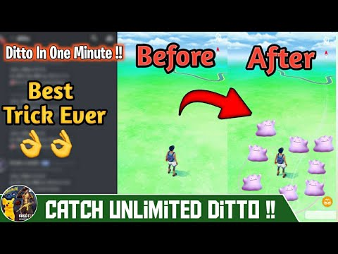 How To Find Ditto In Pokemon Go 2020, Get Ditto In One Minute, Ditto Nest Coordinates