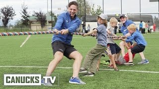 Canucks Prospects Visit Boys and Girls Club