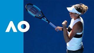 Madison Keys makes it into the last 16 (3R)   Australian Open 2019