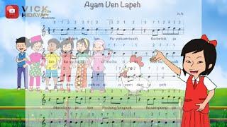 Lagu Ayam Den Lapeh    Lagu Daerah Sumatera Barat    Tematik