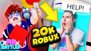 FLEE THE FACILITY PRO BATTLES IT OUT FOR 20k ROBUX (Roblox Battles)