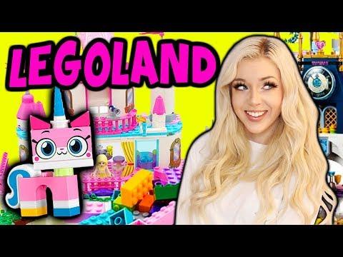 LEGOLAND AMUSEMENT PARK CARNIVAL GAMES!! KIDS CARNIVAL & THEME PARK!!