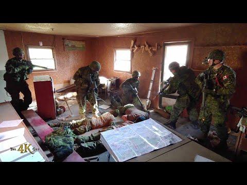 Canada: Militaires En Pratique / Military Drill Exercise 10-19-2019