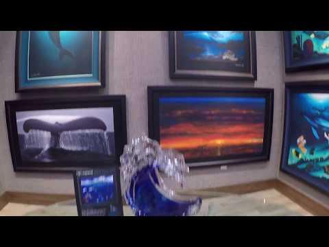Wyland Gallery Show, Santa Monica, November