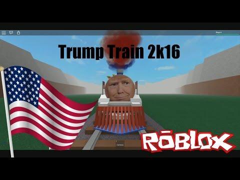 Trump Train 2k16 (ROBLOX)