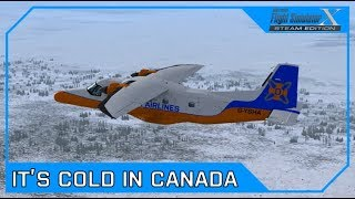 Drawyah plays FSX - It's Cold in Canada|Episode 65
