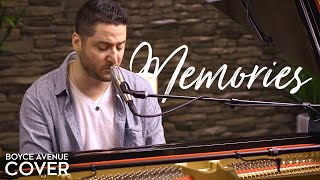 Gambar cover Memories / Canon In D - Maroon 5 (Boyce Avenue piano acoustic cover)
