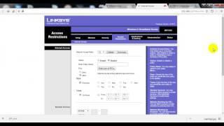 برمجة الاكسس الرائع ( Linksys WRT54G ) احمد العربي