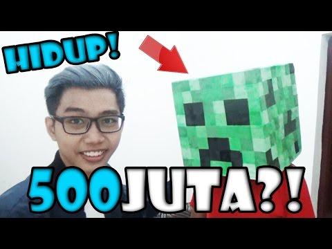 BELI CREEPER HIDUP Ke Indonesia 500JUTA?! - QnA Spesial 50k Subscribers!