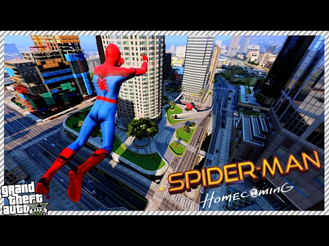 Spider-Man Homecomingwith Web Swinging! Real SpiderMan Power