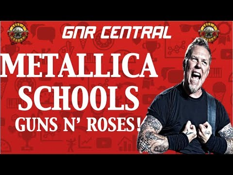 """Metallica Schools Guns N' Roses """"…And Justice For All"""" vs """"Appetite For Destruction"""" Reissue"""