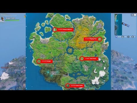 Search Chests At Ego Outpost Season 11 The Lowdown Challenges Fortnite Chapter 2 All 5 Location