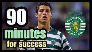 Sporting Lisbon vs Manchester United 3-1    Cristiano Ronaldo Unstopable