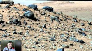 Beautiful Alien Face On Mars, Newest Yet, Aug 8, 2015, UFO Sighting News.