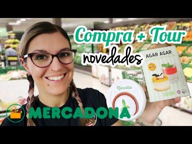 COMPRA SEMANAL MERCADONA + Tour | Novedades Mercadona Septiembre 2019