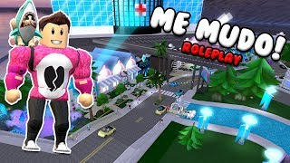 I MOVE TO A MILLONARIA CITY - ROLEPLAY Cerso Roblox