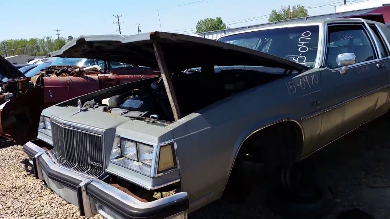 1983 Buick Electra coupe at Pop\'s Pick And Pay junkyard in ...