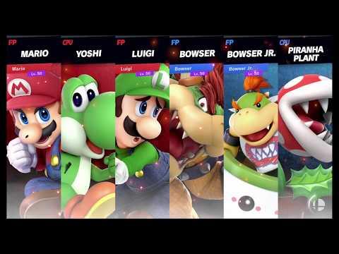 Super Smash Bros Ultimate Amiibo Fights   Request #1374 Super Mario Team Battle thumbnail