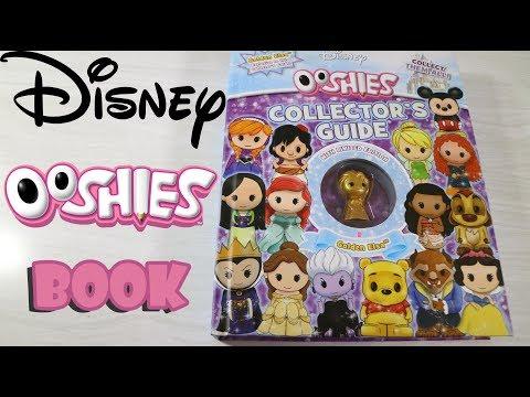 Disney Ooshies Collector's Guide Book Flipthrough + Limited Edition Golden Elsa! | Birdew Reviews