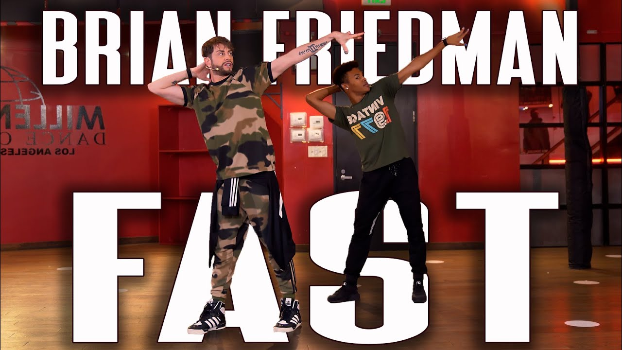Saweetie - Fast (Motion) Amazing Dance by Brian Friedman / RedWall Tutorials