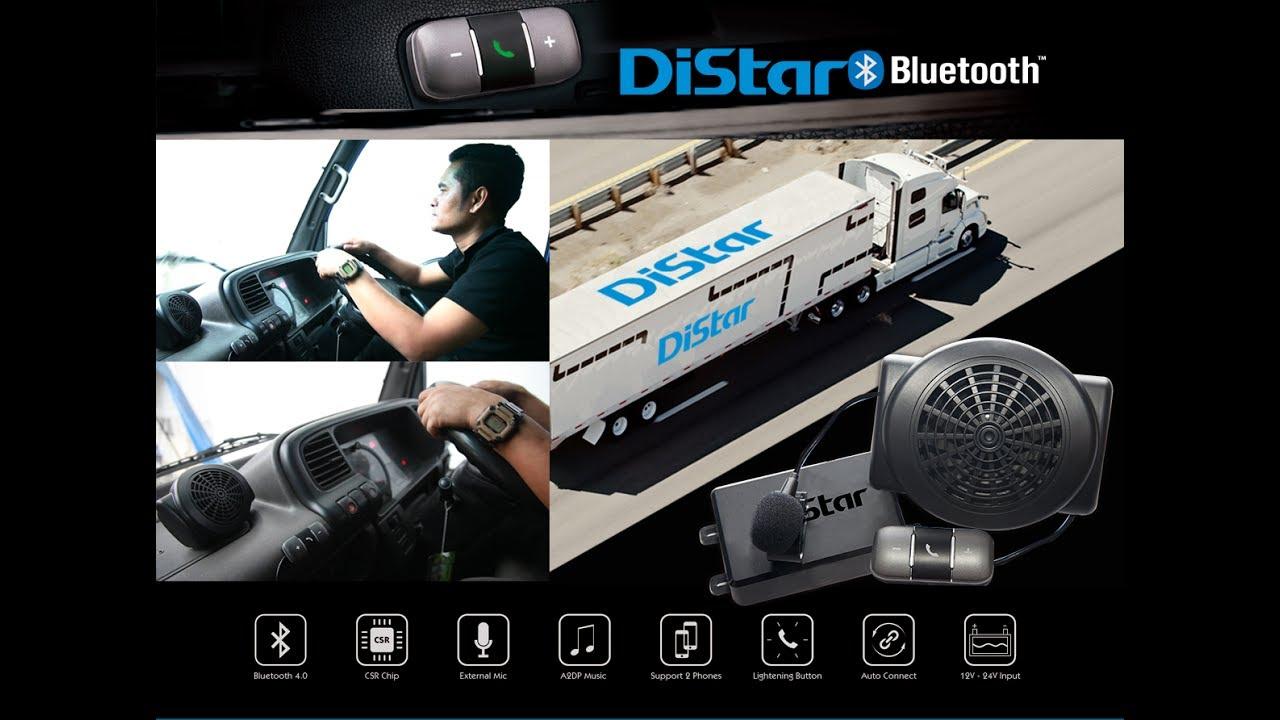 Distar Bluetooth ไม่พลาดทุกการติดต่อ ปลอดภัยทุกการขับขี่