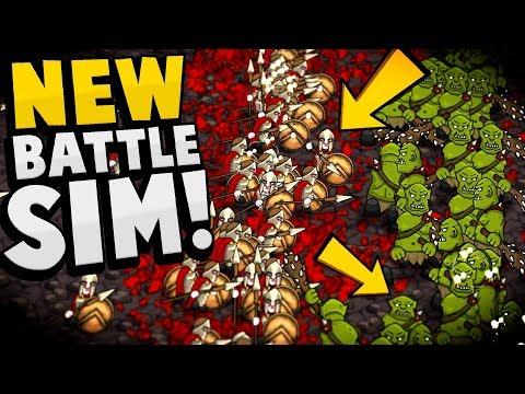 MASSIVE & EPIC CUSTOM BATTLES! Create Units & Large Scale Battles! - Hyper Knights Battles Gameplay