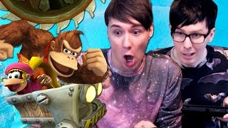 MINECART MANIA - Dan and Phil Play: Donkey Kong Country Tropical Freeze #2