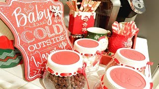 WHIMSY HOT COCOA BAR | + DECORATE WITH ME!