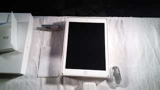 iPad Air unboxing (silver)
