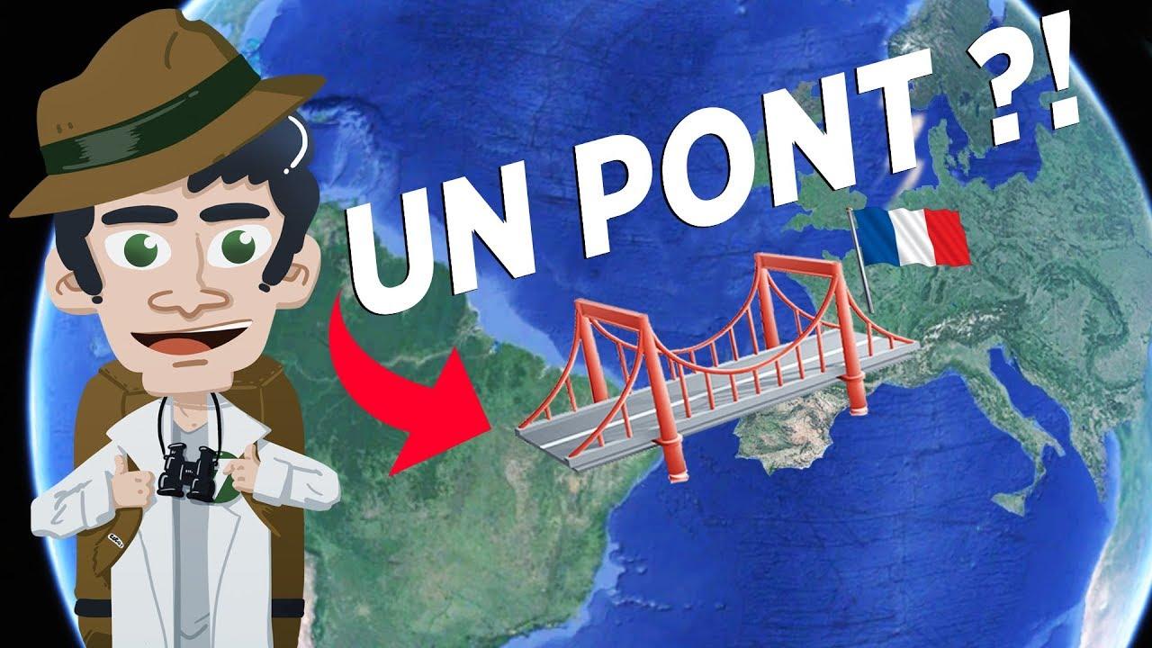Un PONT entre la FRANCE et l'AMÉRIQUE du SUD ? - Les frontières de Guyane