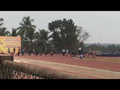 100 m running Mangalore