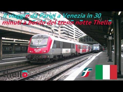 Il Viaggio Da Parigi A Venezia In 30 Minuti A Bordo Del Treno Notte Thello