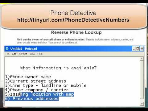 How to Tap A Cell Phone with Just the Number?