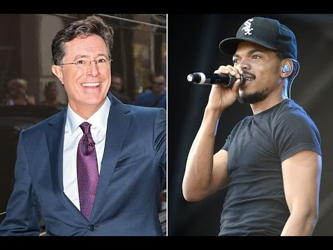 Chance The Rapper, Stephen Colbert Make A Song