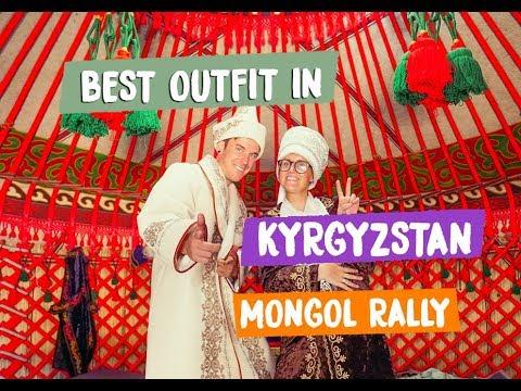 POLICE STOPS KYRGYZSTAN TO KAZAKHSTAN -Mongol Rally 2018