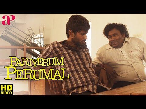 Pariyerum Perumal Scenes   Anandhi supports Kathir   Shanmugarajan   Yogi Babu   Tamil Movies 2018