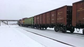 тепловоз ge c36 7i 1516 эстония станция нарва