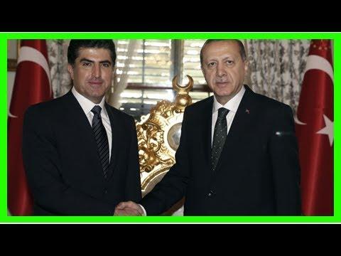 erdoğan : Turkey keeps watchful eye on succession of iraqi kurd leadership