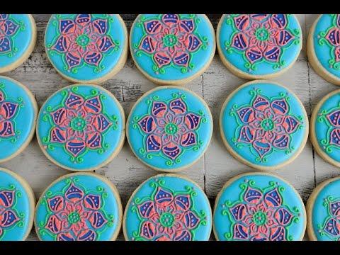 Easy Henna Cookies Haniela S Youtube