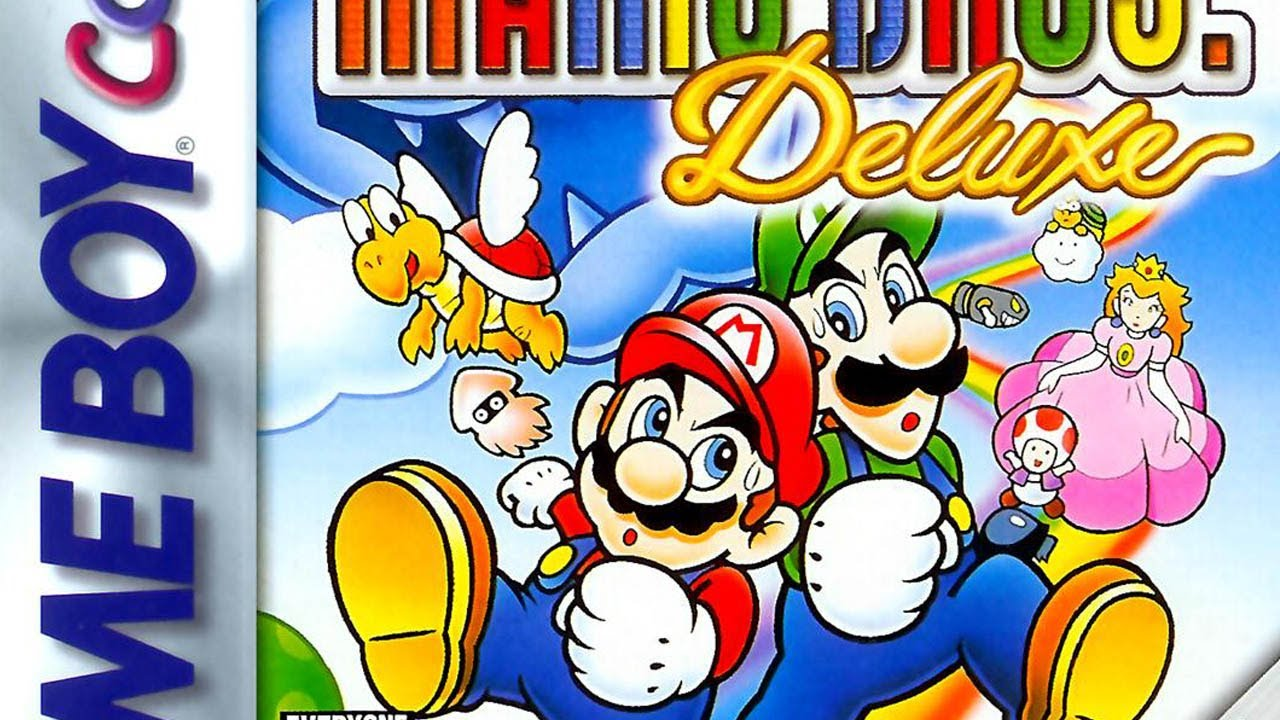 Cgrundertow Super Mario Bros Deluxe For Game Boy Color Video Game