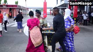 FULL VIDEO: Mapokezi Ya Muna Love AIRPORT | Hali Yake Sio Nzuri!