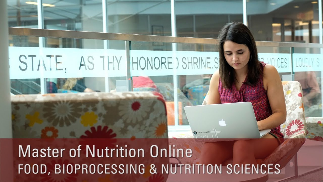 NC State University Master of Nutrition Online (click to view video)
