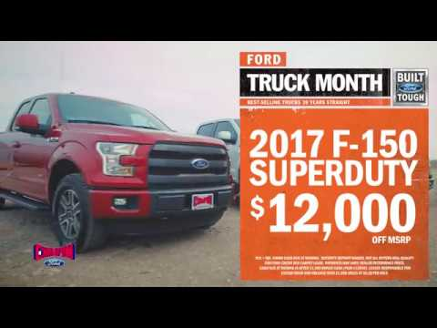 Champion Ford Owensboro Truck month 2017