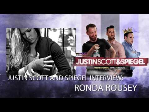 Justin Scott and Spiegel Interview Ronda Rousey