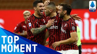 Ante Rebic scores the fourth 10 minutes from time! | Milan 4-2 Juventus | Top Moment | Serie A TIM