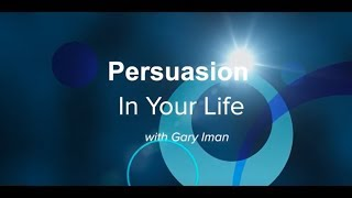 Persuasion in Your Life - The Role of Arguments in Persuasion