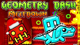 Geometry Dash Meltdown: Viking Arena Complete Level New Highscore Challenge!